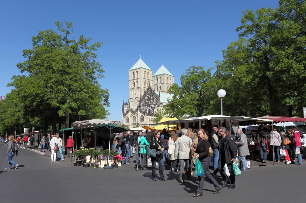 Wochenmarkt Munster