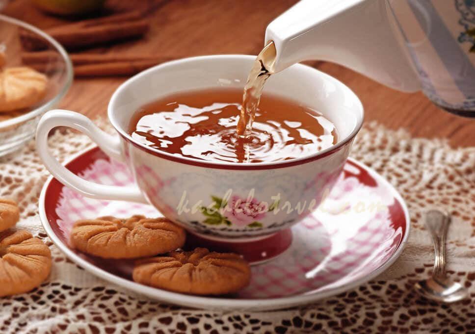วัฒนธรรมการดื่มชา